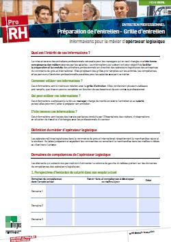 Pro rh priorit s rh ccn3100 - Grille entretien de recrutement ...